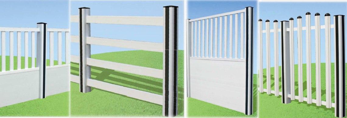 recinzioni e barriere pvc esterno. Black Bedroom Furniture Sets. Home Design Ideas