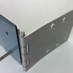 Charniere glissiere Inox 3mm