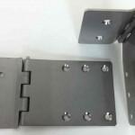 Charniere glissiere Inox 3mm-vue