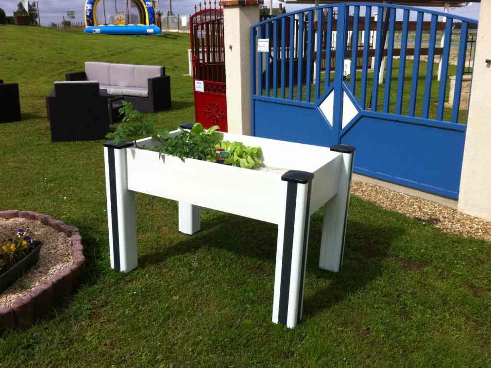 jardiniere profils pvc. Black Bedroom Furniture Sets. Home Design Ideas