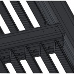 Liaison poutre pergola PVC